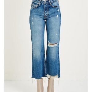 GRLFRND Linda Zodiac Denim Distressed Jean 27